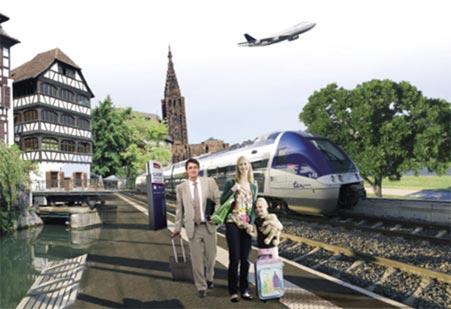 Découvrez les transferts vers ou de l'aéroport de Strasbourg
