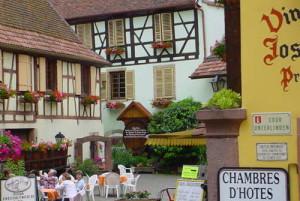 Photo d'une chambre d'hôtes de charme en Alsace