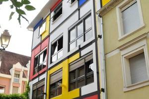 Photo de la maison Mondrian à Mulhouse chambres d'hôtes design