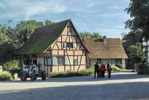 Photo d'une maison de vacances en Alsace