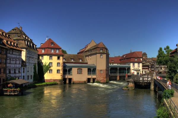 photo de l'hôtel Régent dans la petite France à Strasbourg