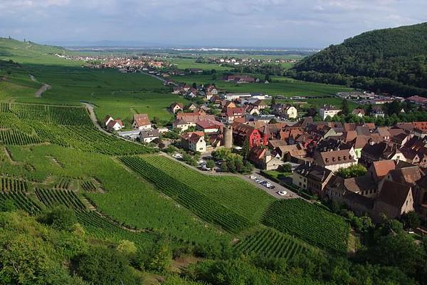 Photo de Kaisersberg sur la Route des Vins d'Alsace